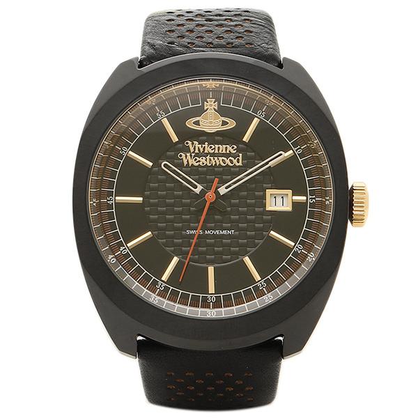 【24時間限定ポイント5倍】ヴィヴィアンウエストウッド 時計 VIVIENNE WESTWOOD VV136BKBK メンズ腕時計 ウォッチ ブラック