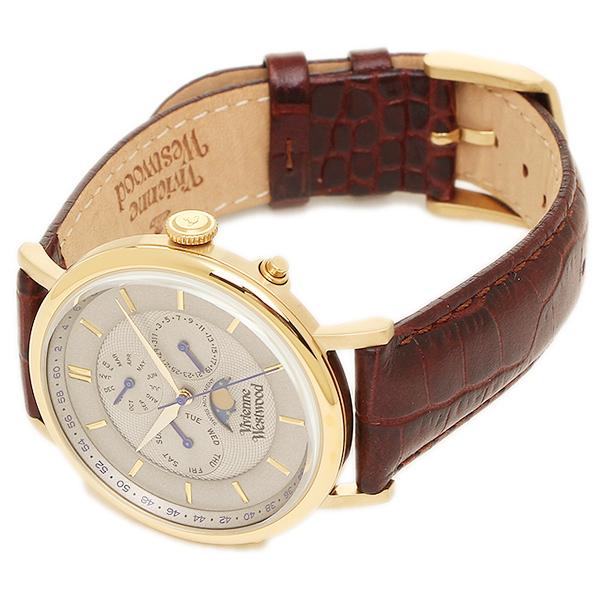 brand shop axes rakuten global market vivienne westwood watch vivienne westwood watch vivienne westwood vv164chbr portland mens watch watches white gold brown