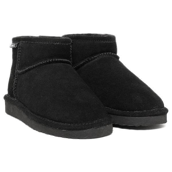 【6時間限定ポイント5倍】ベアパウ ムートンブーツ Bearpaw CI4BT016W LENA シープスキンブーツ BLACK