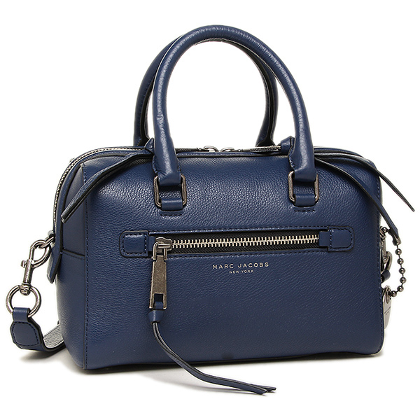 标记雅各布包MARC JACOBS女士M0009632 403 RECRUIT SMALL BAULETTO RECRUIT挎包、2WAY包DARK BLUE
