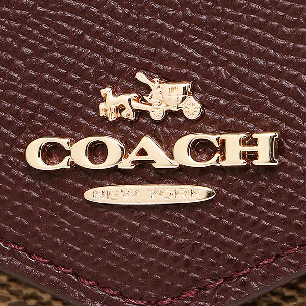 코치 지갑 COACH 55065 LIEHI 소후트워렛트시그네챠장 지갑 라이트고르드카키옥스브롯드