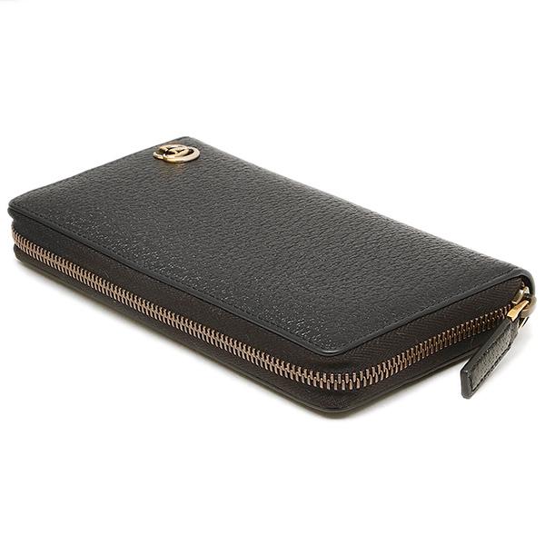 643ea967753314 ... Gucci wallet GUCCI 428736 DJ20T1000 GG Marmont MARMONT zip around wallet  men's long wallet NERO ...