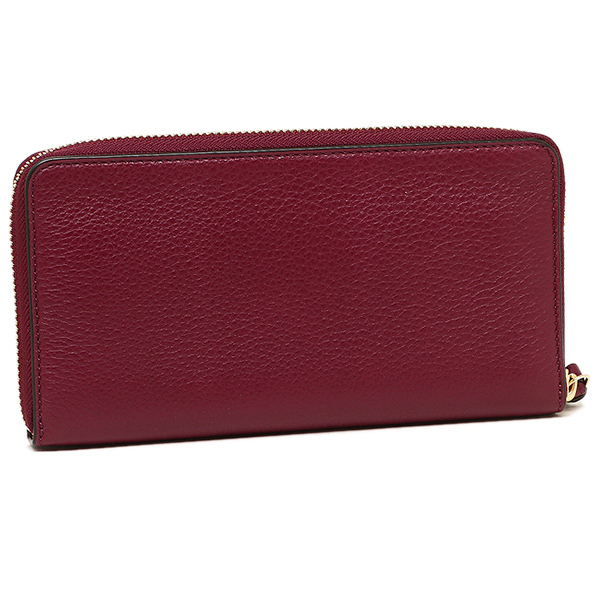 새-바치 지갑 TORY BURCH 레이디스 32172 513 HARPER ZIP CONTINENTAL WALLET장 지갑 DARK MERLOT