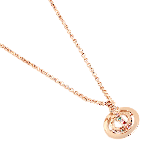 ヴィヴィアンウエストウッド ネックレス アクセサリー VIVIENNE WESTWOOD 752116B/3 プチオーブ ペンダント ネックレス・ペンダント PINK GOLD