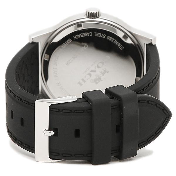 f5676eaaa3fa コーチ 腕時計 メンズ アウトレット COACH W5015 F3A ブラック シルバー ブルー-メンズ腕時計