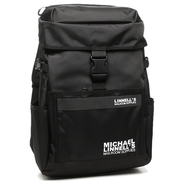 【24時間限定ポイント5倍】マイケルリンネル リュック MICHAEL LINNELL ML-016 約27L ブラック