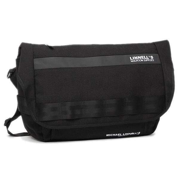 マイケルリンネル ショルダーバッグ MICHAEL LINNELL MLCD-200 ブラック