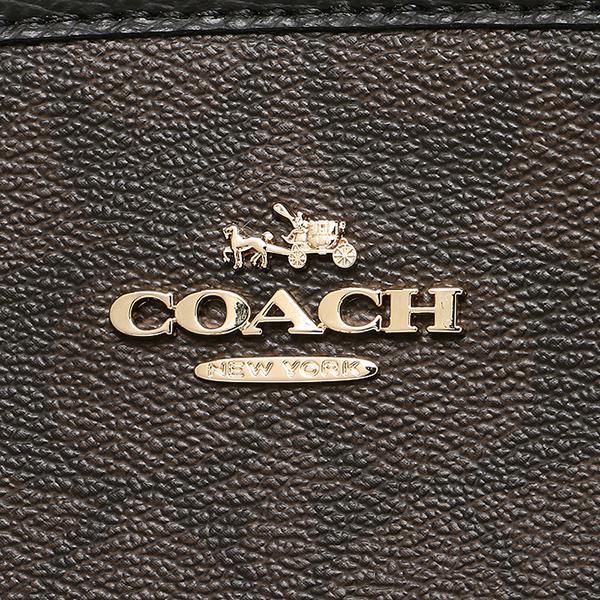 코치 COACH 토트 백 아울렛 F55932 IMAA8 브라운 블랙