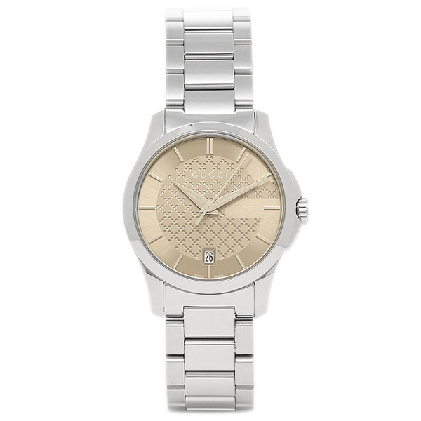 70573c759eb Brand Shop AXES  Gucci watch YA126526 GUCCI G timeless ladies watch ...