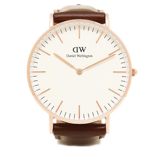 【24時間限定ポイント5倍】ダニエルウェリントン 腕時計 Daniel Wellington DW00100039 BRISTOL ROSEGOLD ローズゴールド