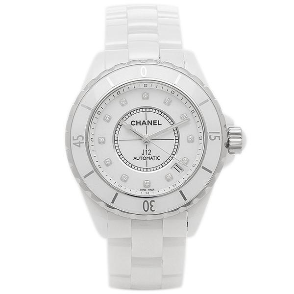 シャネル 腕時計 CHANEL H1629 メンズ ホワイト