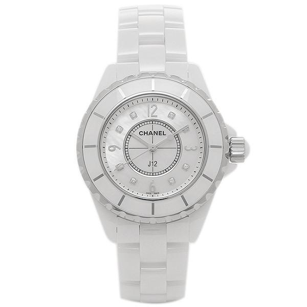 シャネル 腕時計 CHANEL H2422 レディース ホワイト