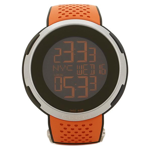 【6時間限定ポイント10倍】【返品OK】グッチ GUCCI 時計 腕時計 メンズ グッチ 時計 メンズ GUCCI Iグッチ 腕時計 ウォッチ ブラック