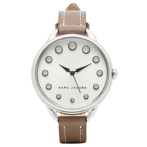 【2時間限定ポイント10倍】マークジェイコブス 腕時計 MARC JACOBS MJ1476 レディース シルバ- ブラウン