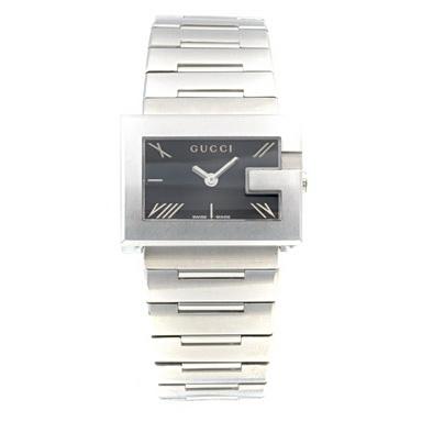 【2時間限定ポイント10倍】GUCCI グッチ ブラック/シルバーウォッチ/腕時計 レディース