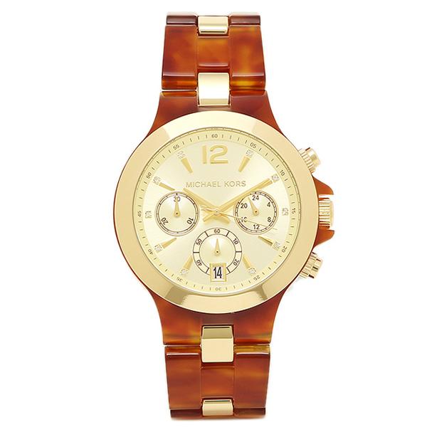 834d357c6178 ... Michael Kors watch MICHAEL KORS MK6386 gold brown