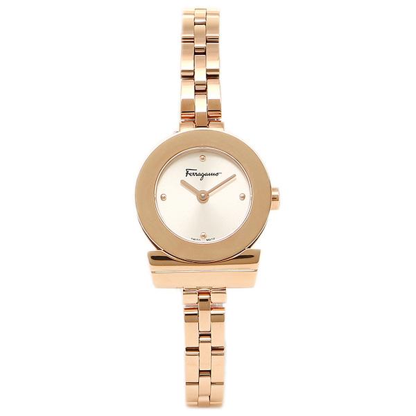 【48時間限定ポイント10倍】【返品OK】フェラガモ 腕時計 レディース Salvatore Ferragamo FBF040016 ローズゴールド