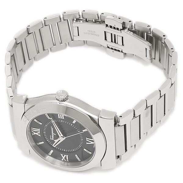 Ferragamo watch Salvatore Ferragamo FI0940015 black silver