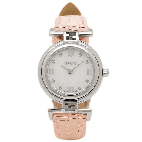 【4時間限定ポイント10倍】フェンディ 腕時計 レディース FENDI F271247D-NEW ホワイトパール/ピンク
