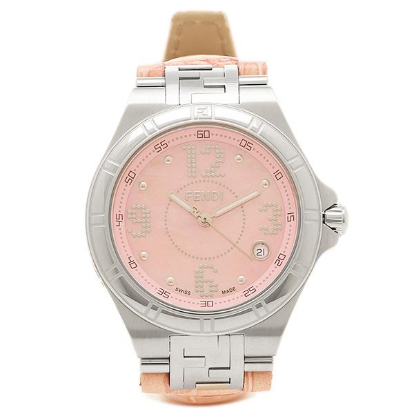 【9時間限定ポイント10倍】【返品OK】フェンディ 腕時計 レディース FENDI F414377 ピンク