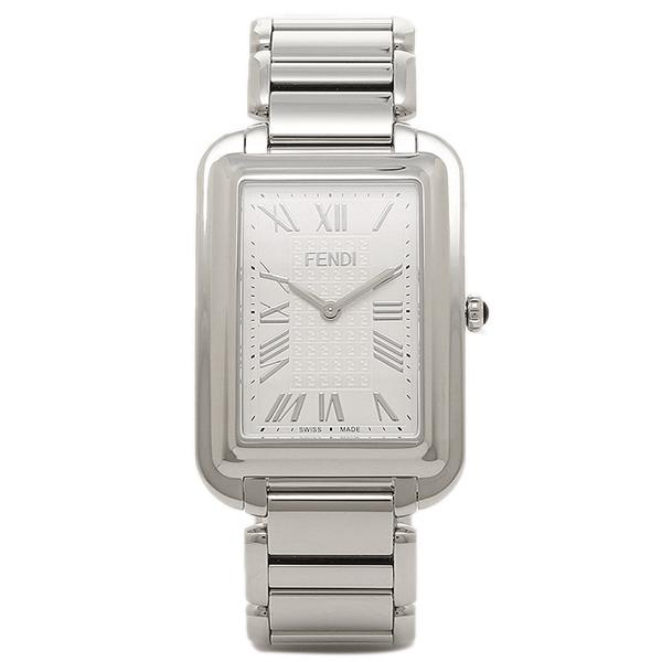 【返品OK】フェンディ 腕時計 レディース FENDI F703014000 ホワイト/シルバー