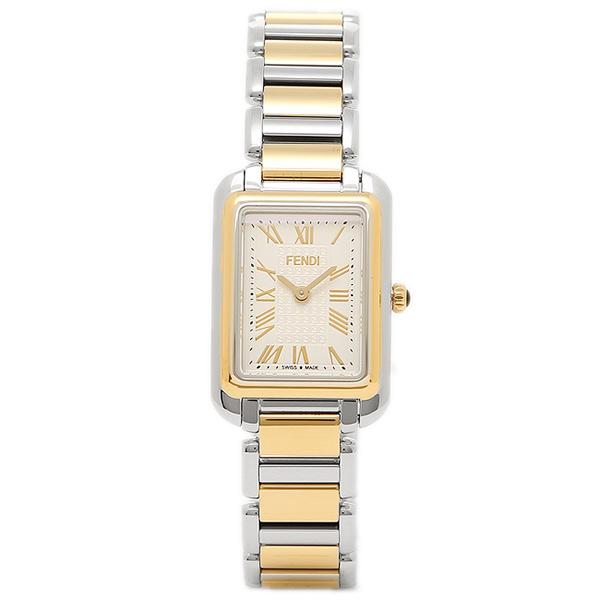 フェンディ 腕時計 レディース FENDI F703124000 シルバー/ゴールド