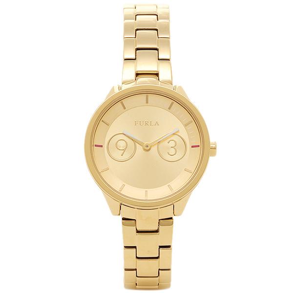 【72時間限定ポイント10倍】【返品OK】フルラ FURLA 腕時計 レディース R4253102508 866645 イエローゴールド