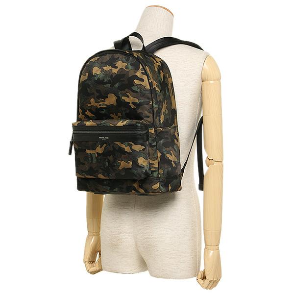 Michael course bag MICHAEL MICHAEL KORS 33F6LKNB2R 309 KENT MD BACKPACK CAMO  PRINT mens rucksack   backpack ARMY 881869cc8532