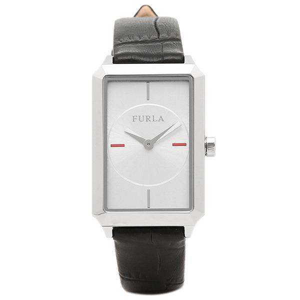 【72時間限定ポイント10倍】【返品OK】フルラ FURLA 腕時計 レディース R4251104505 シルバー ブラック