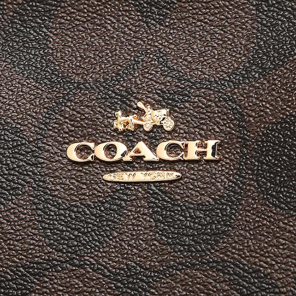 教练COACH大手提包奥特莱斯F58292 IMAA8棕色黑色