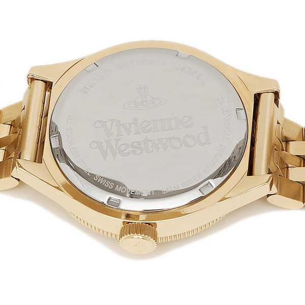 비비안웨스트웃드멘즈 손목시계 VIVIENNE WESTWOOD VV160NVGD 네이비 골드