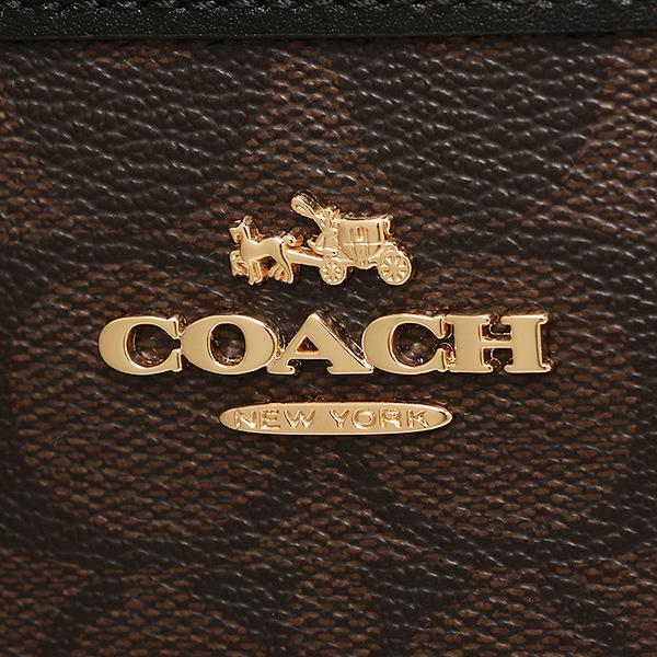 教练COACH挎包奥特莱斯F58297 IMAA8棕色黑色