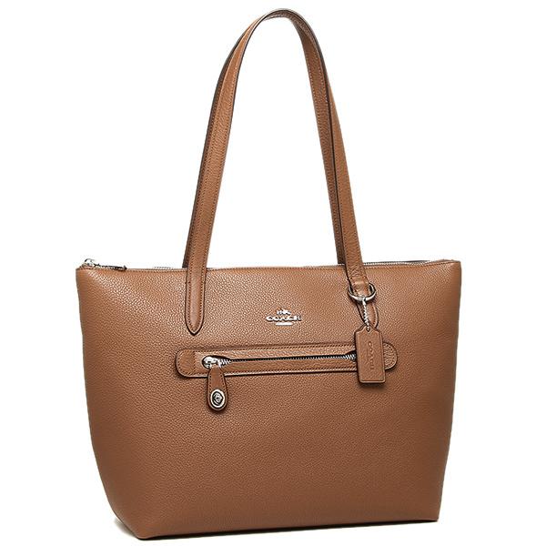 Coach Tote Bag 38312 Sv Sd Brown