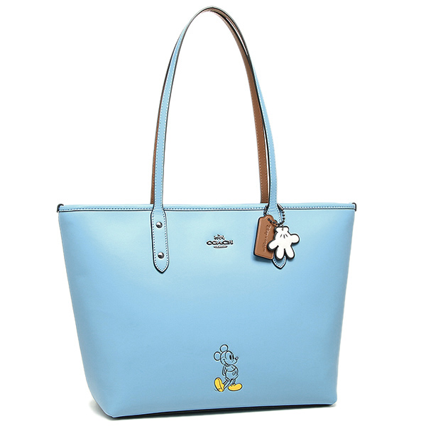 Coach tote bag COACH 56645 DKEP4 is blue