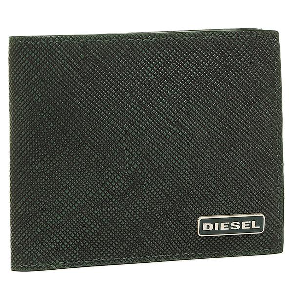 【2時間限定ポイント10倍】ディーゼル 折財布 DIESEL X03344 P0517 H5429 グリーン