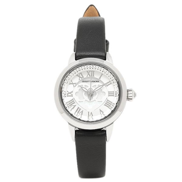 シルバー 腕時計 ブラック ジュリエッタヴェローナ GV003SSIBK GIULIETTAVERONA