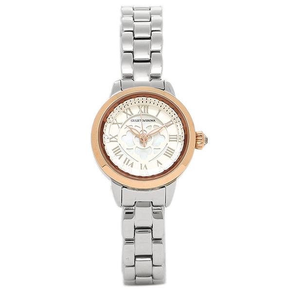 【30時間限定ポイント5倍】ジュリエッタヴェローナ 腕時計 GIULIETTAVERONA GV003TSI シルバー ピンクゴールド シルバー