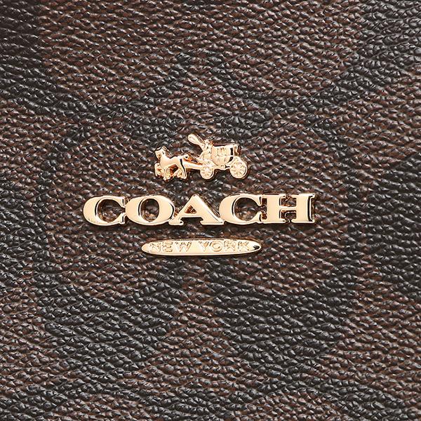 코치 토트 백 아울렛 COACH F34603 IMEWC 브라운 핑크