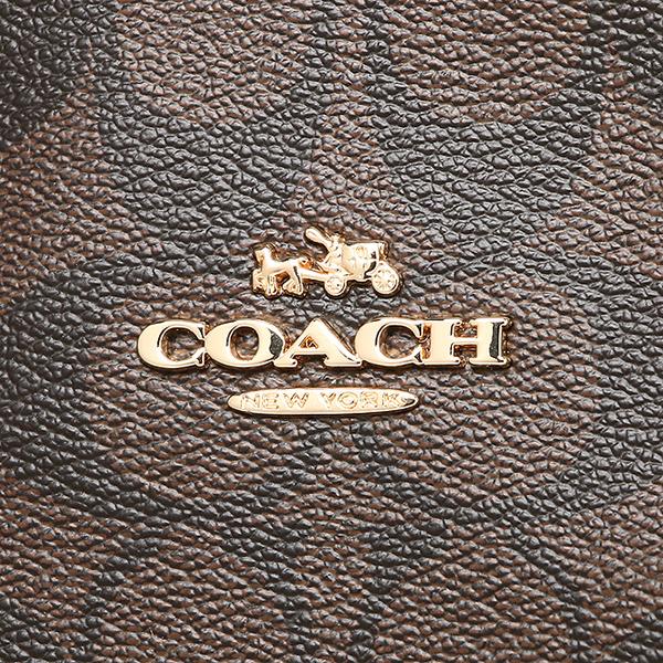 코치 COACH 토트 백 아울렛 F58294 IMAA8 브라운 블랙