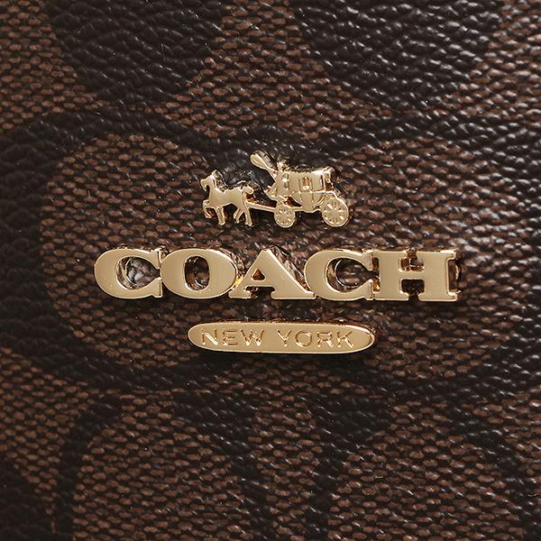 코치 COACH 토트 백 아울렛 F36658 IMAA8 브라운 블랙