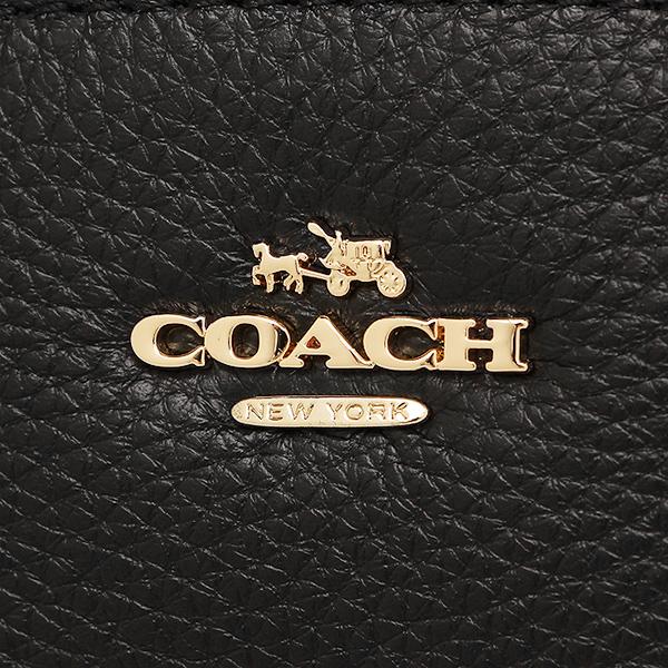 코치 가방 아울렛 COACH F57563 IMBLK페브르레자미니케르시삿체르토트밧그 2 WAY 가방 블랙