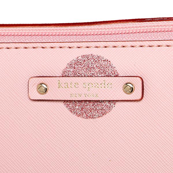 凯特黑桃大手提包奥特莱斯KATE SPADE WKRU4119 675女子的粉红
