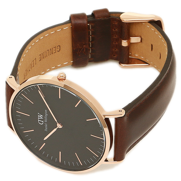 다니엘 Wellington 손목시계 Daniel Wellington DW00100125 40 mm BRISTOL 로즈 골드