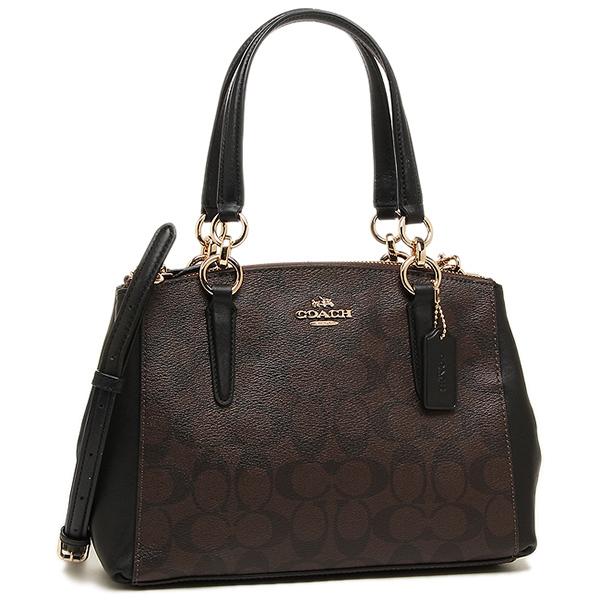 Coach Shoulder Bag Outlet F58290 Imaa8 Brown Black