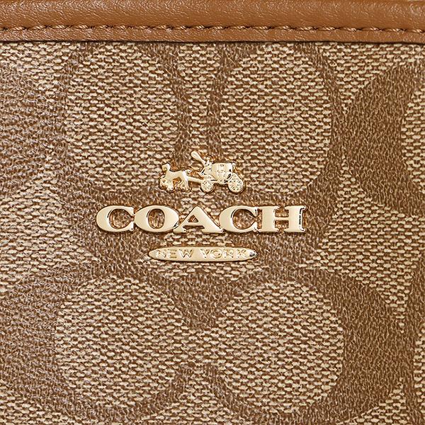 教练COACH大手提包奥特莱斯F58310 IMBDX黄褐色棕色