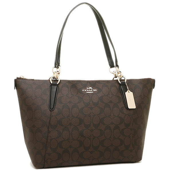 Coach Tote Bag Outlet F58318 Imaa8 Brown Black