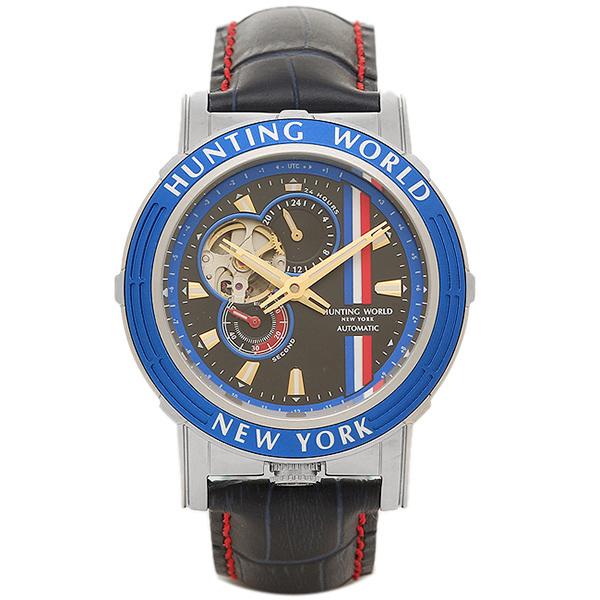 ハンティングワールド 腕時計 HUNTING WORLD HW993BL ブルー ブラック