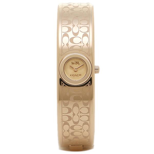 코치 손목시계 COACH 14502609 로즈 골드