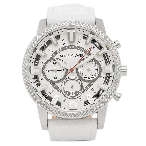 エンジェルクローバー 腕時計 ANGEL CLOVER RD44SWH-WH ホワイト シルバー ホワイト