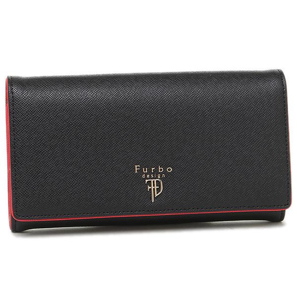 フルボデザイン メンズ 財布 Furbo design FRB107 ブラック レッド